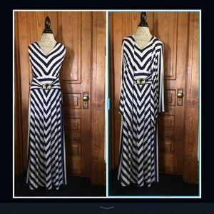 Liz Lange Maxi dress with matching jacket